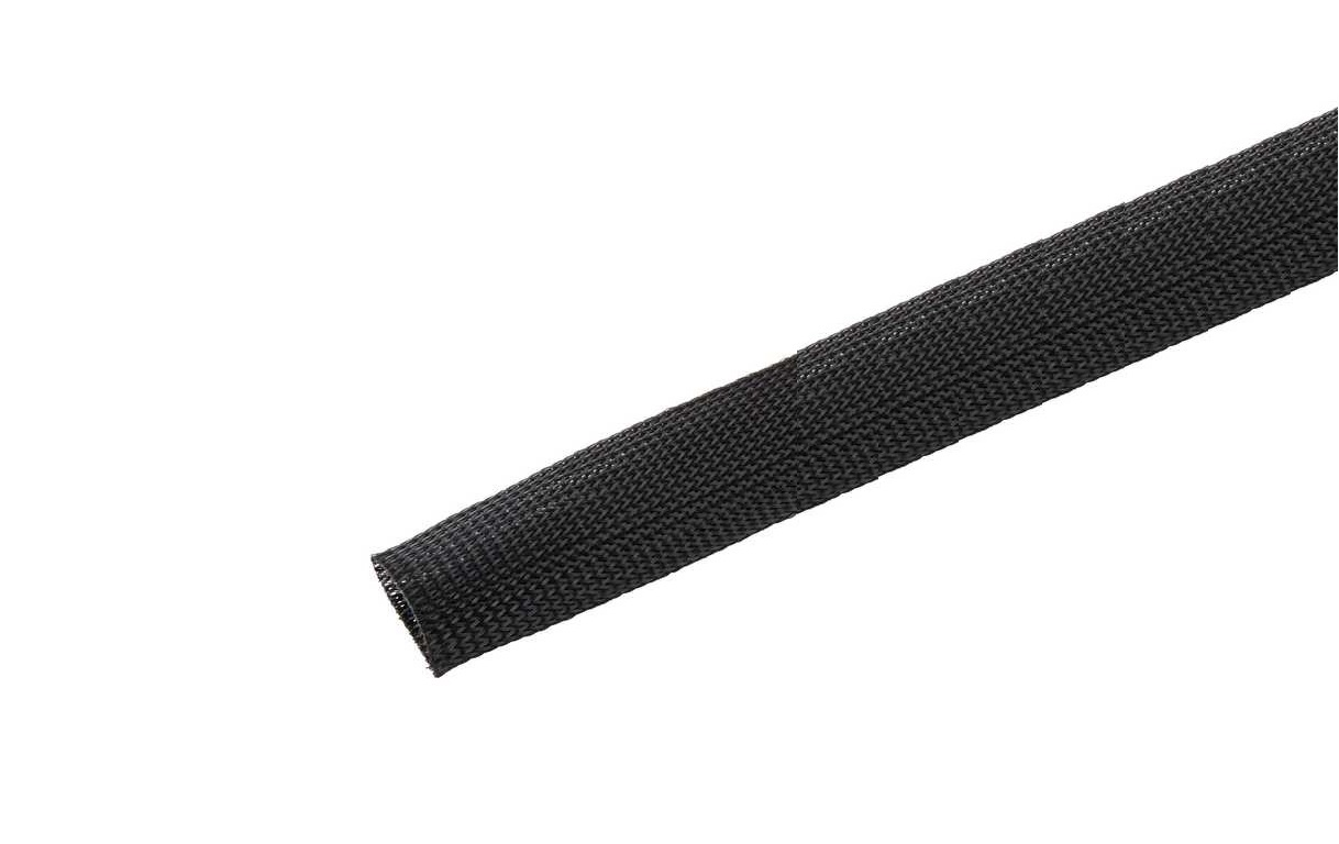 Panduit Braided Expandable Sleeving 100ft Black SE75P-CR0