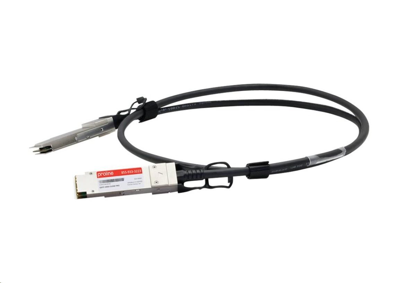 Proline 100GBase-CU Direct Attach Cable 6.6ft TAA Compliant QSFP-100G-CU2M QSFP-100G-CU2M-PRO