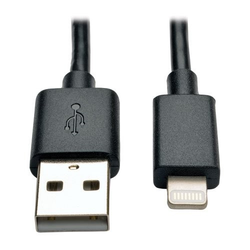 Tripp Lite Apple Mfi Certified 10in Lightning To Usb Cable Single Pack M100-10N-BK