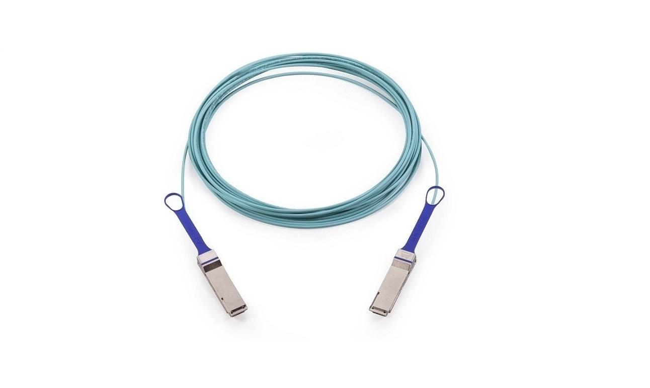 Mellanox Active Fiber Cable Ethernet 100GbE QSFP Lszh 16.40ft 5m MFA1A00-C005