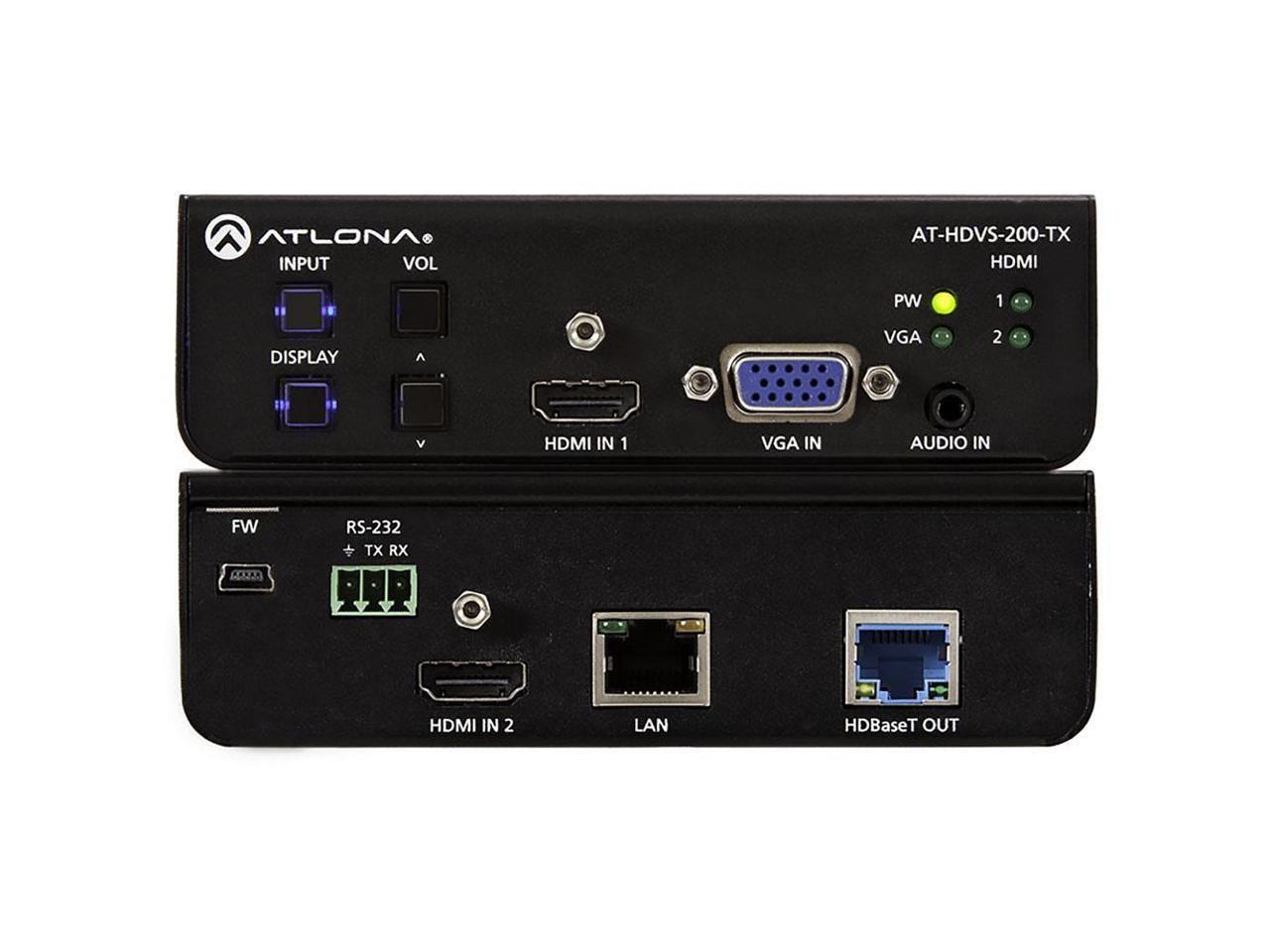Atlona AT-HDVS-200-TX HDMI VGA Three-Input Switcher