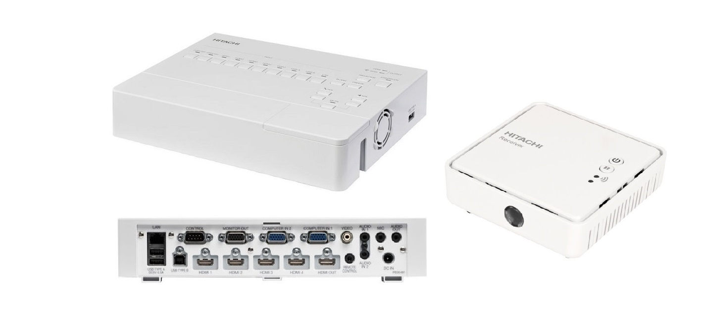 Hitachi MS-1WL Wireless Multifunctional Switcher Scaler
