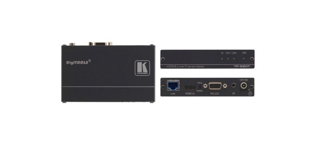 Kramer Hdbaset 4K/60 UHD Twisted Pair HDMI 232 Receiver TP-580T