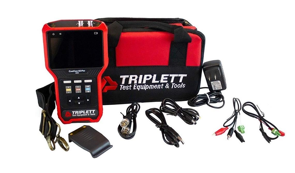 Triplett 8065 Camview HD Pro Rugged Analog Camera Tester 8065