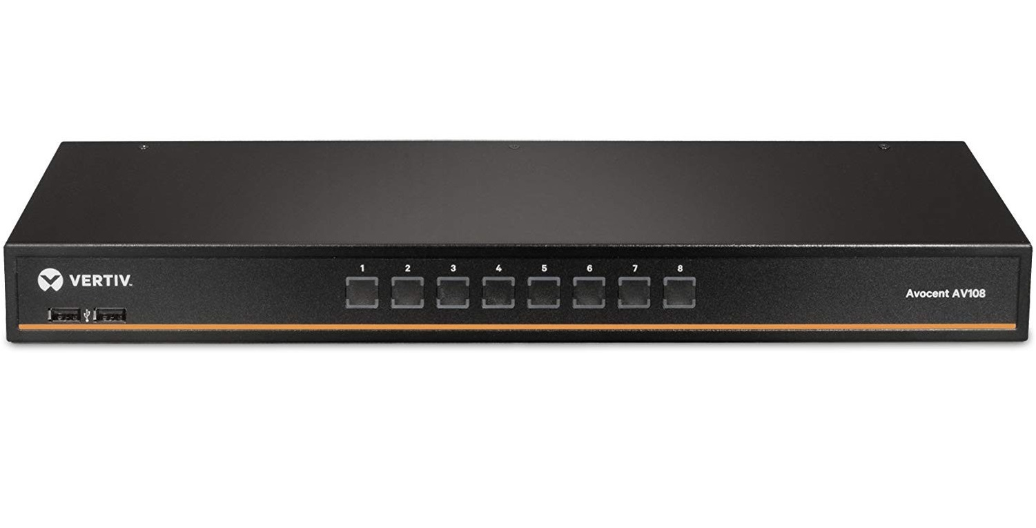 Avocent AV100 8-Ports Basic KVM Switch With OSD AV108-400