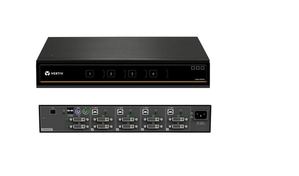 Vertiv Cybex SC940 4-Ports Secure KVM Secure Switch SC940-001