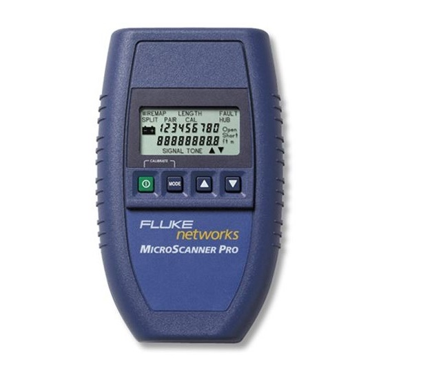 Fluke Microscanner Pro Cable Tester Unit 2465438