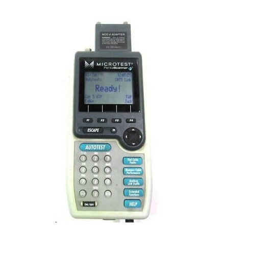Microtek Microtest Penta Scanner Cable Tester 2938-4009-02