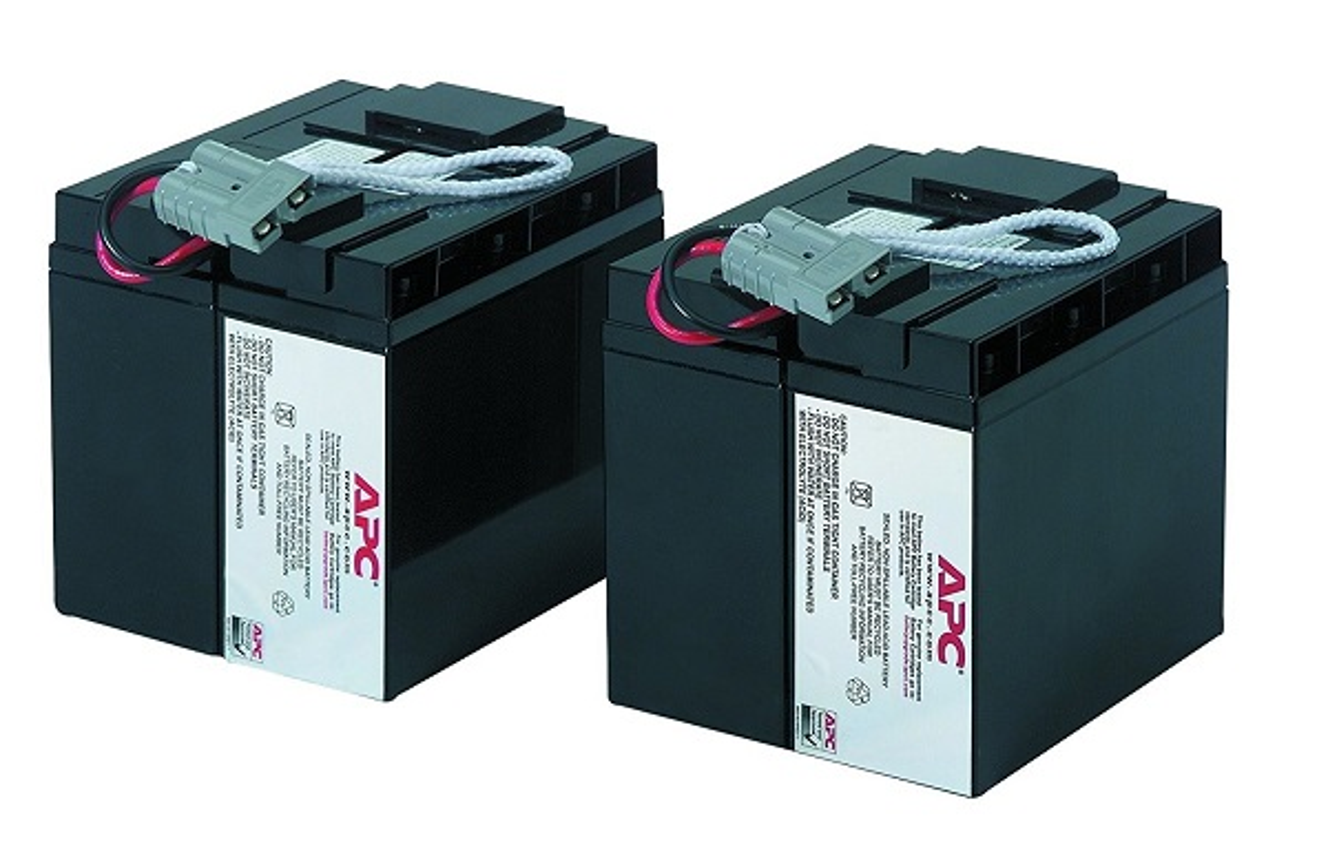 APC Replacement Battery Cartridge #55 UPS Battery Lead Acid RBC55