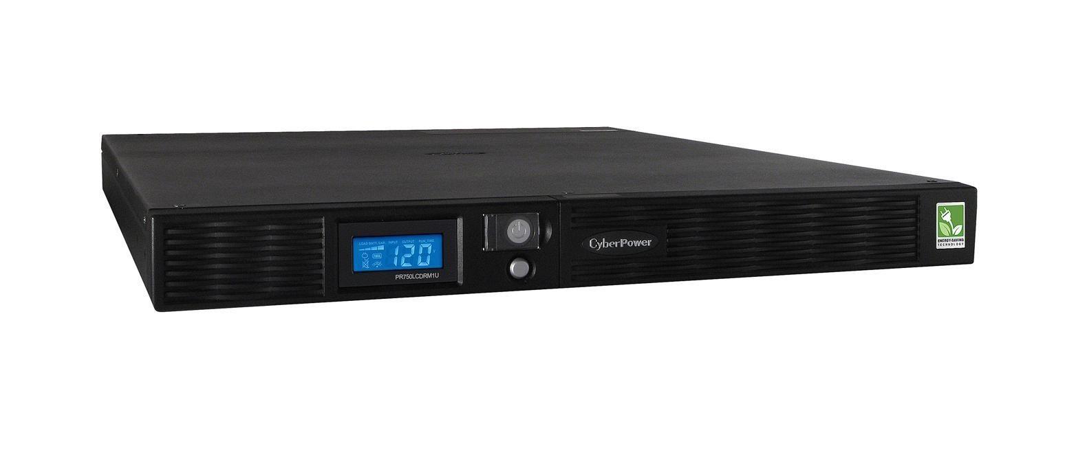 Cyberpower Sinewave 750VA 560W 120V NEMA 5-15R UPS PR750LCDRM1U