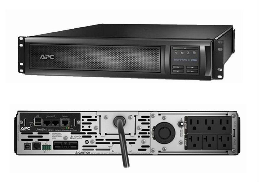 APC Smart-UPS X 3000VA Rack/Tower LCD 100-127V With Network Card SMX3000RMLV2UNC