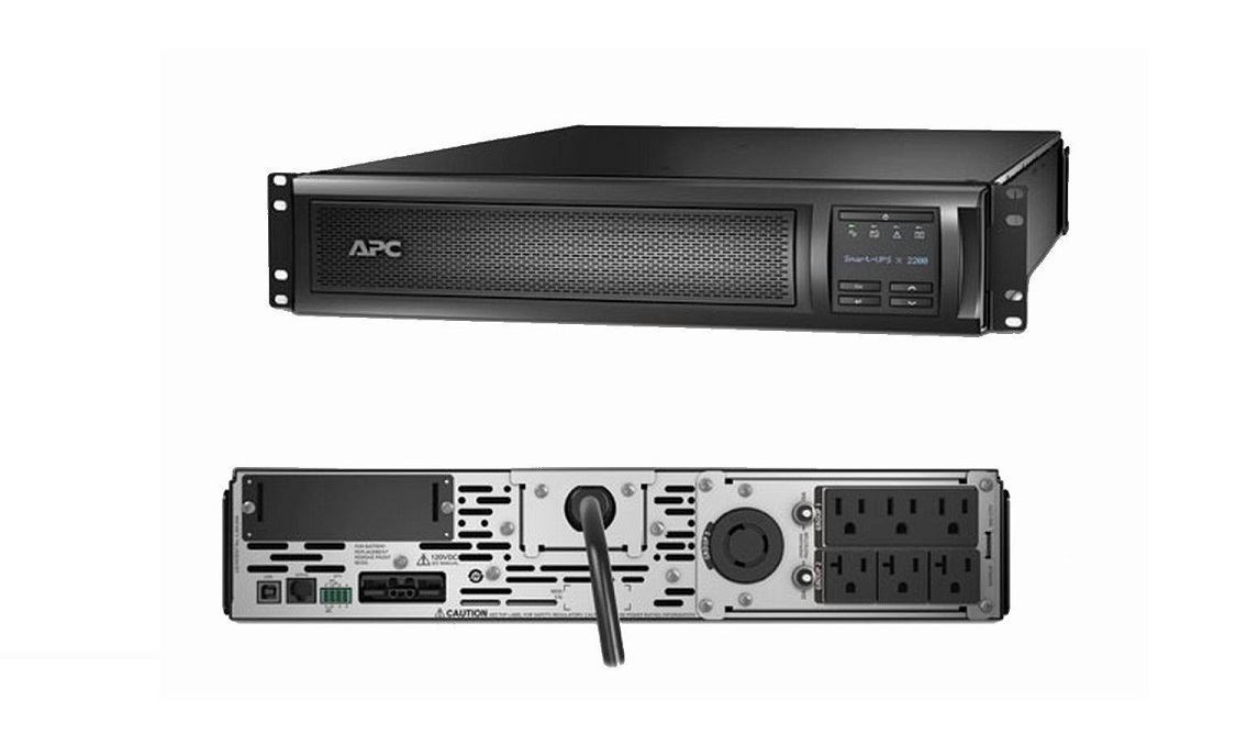 APC Smart-UPS X 3000VA 2700Watt External Lead Rack/Tower LCD UPS SMX3000RMLV2U