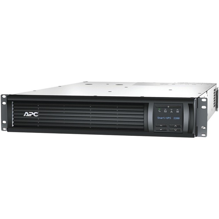 APC SMT2200RM2U Smart-UPS RM 2200VA 1980W 120V 2U RackMount LCD UPS System SMT2200RM2U