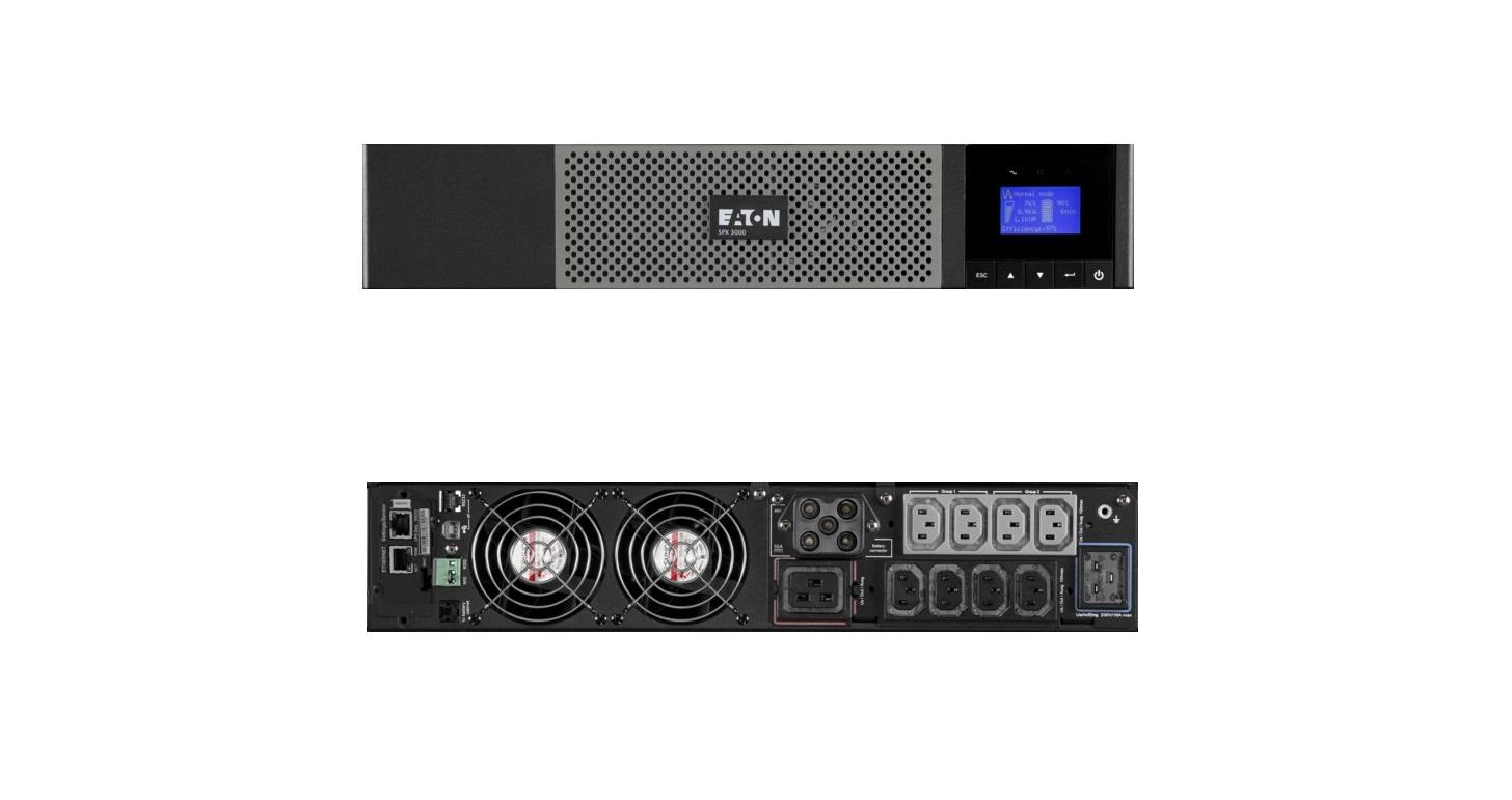 Eaton 5PX 3000 VA 2700W 230V 2U Rack UPS 5PX3000IRT2U
