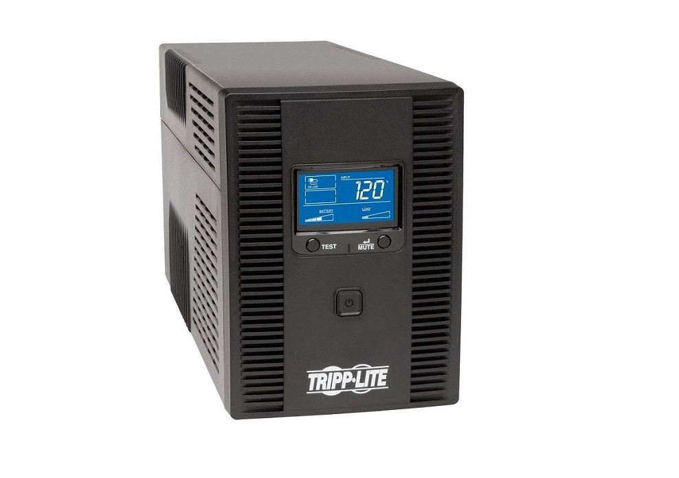 Tripp Lite OmniSmart 1500VA 810W 120V Tower UPS OMNI1500LCDT