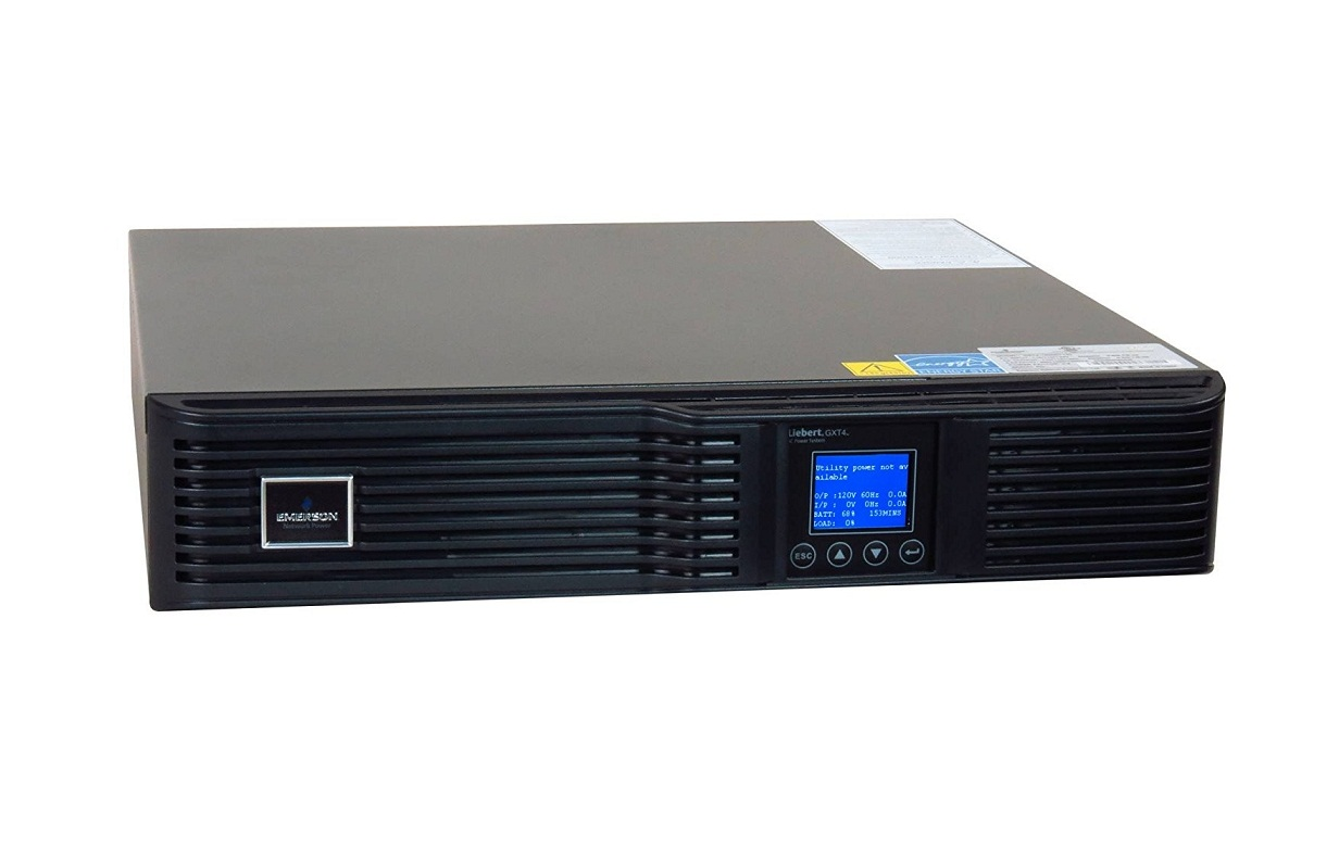 Liebert GXT4-1500RT120 GXT4 1500VA 1350W 120V OnLine Rack Tower Smart UPS