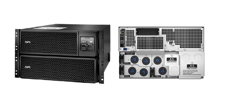 APC Smart-UPS SRT 8000VA RM 208V Battery 6U Rack-Mountable SRT8KRMXLT