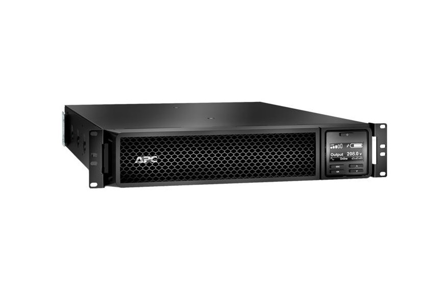 APC Smart-UPS SRT 3000VA RM 208V 2U Rack-Mountable UPS SRT3000RMXLT