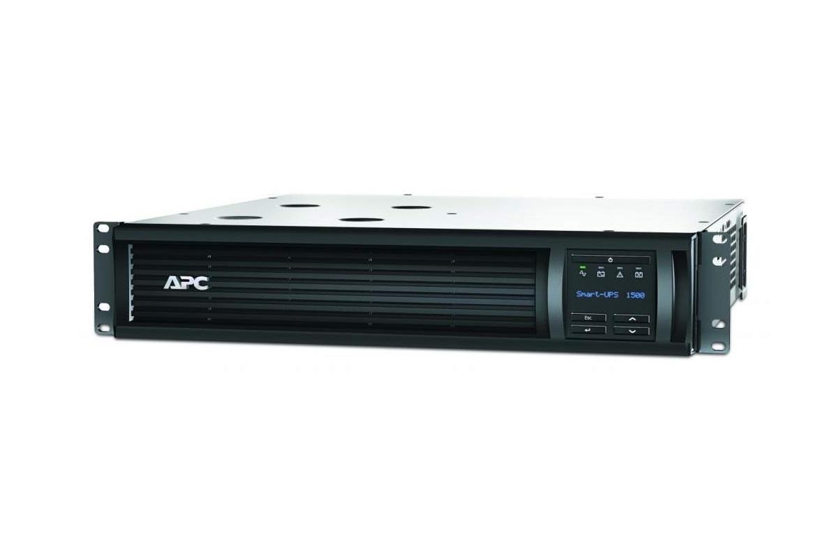 APC Smart UPS 1500VA 1000W 120V With SmartConnect 2U RackMount UPS System SMT1500RM2UC