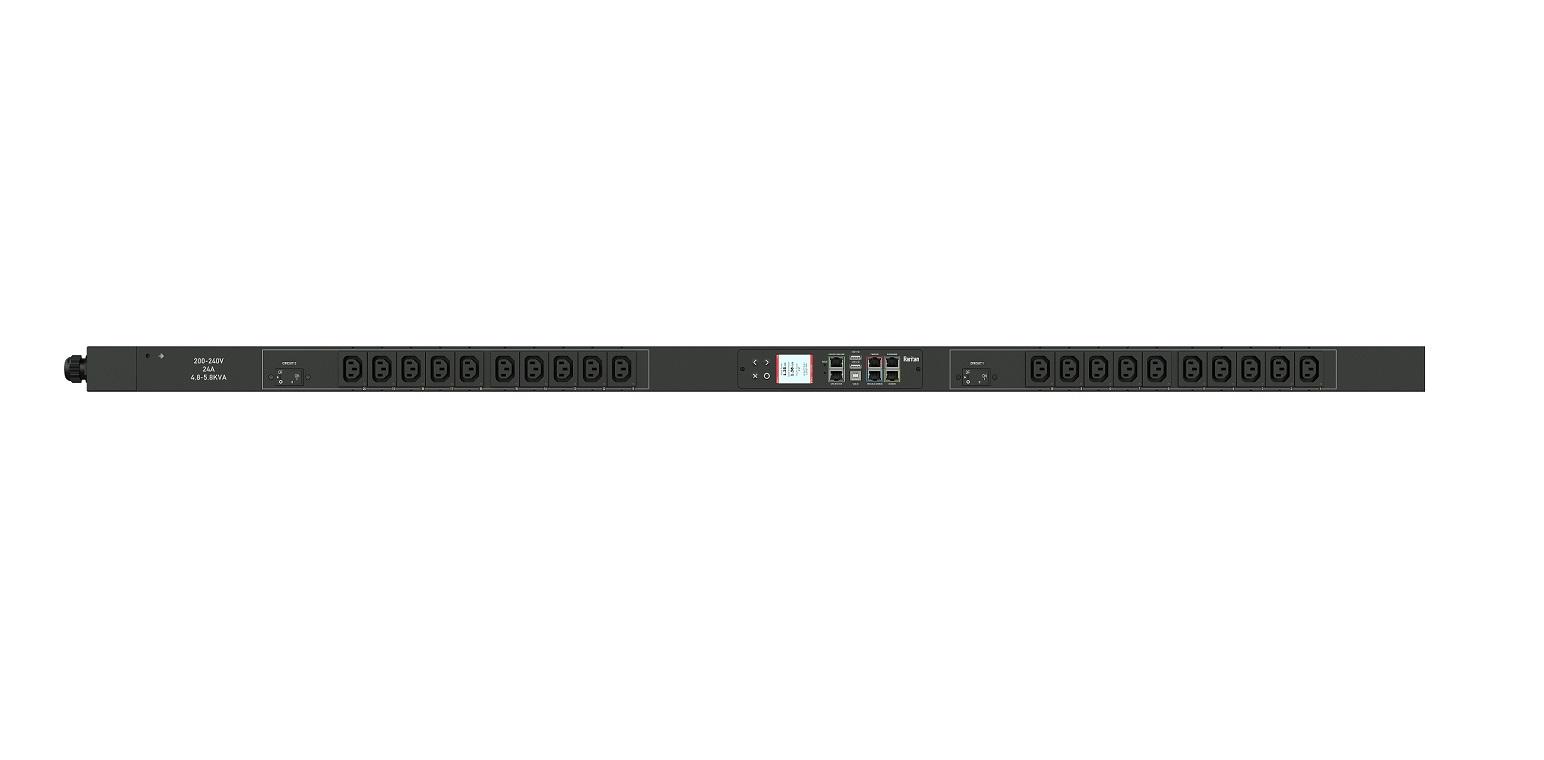 Raritan 208V 5kVA L6-30P 20xC13 Rack PDU PX3-5460V-C5