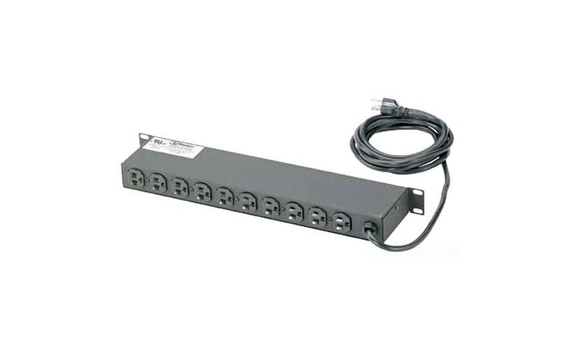 Panduit 15A 120V Power Strip With Power Cord CMRPSH15