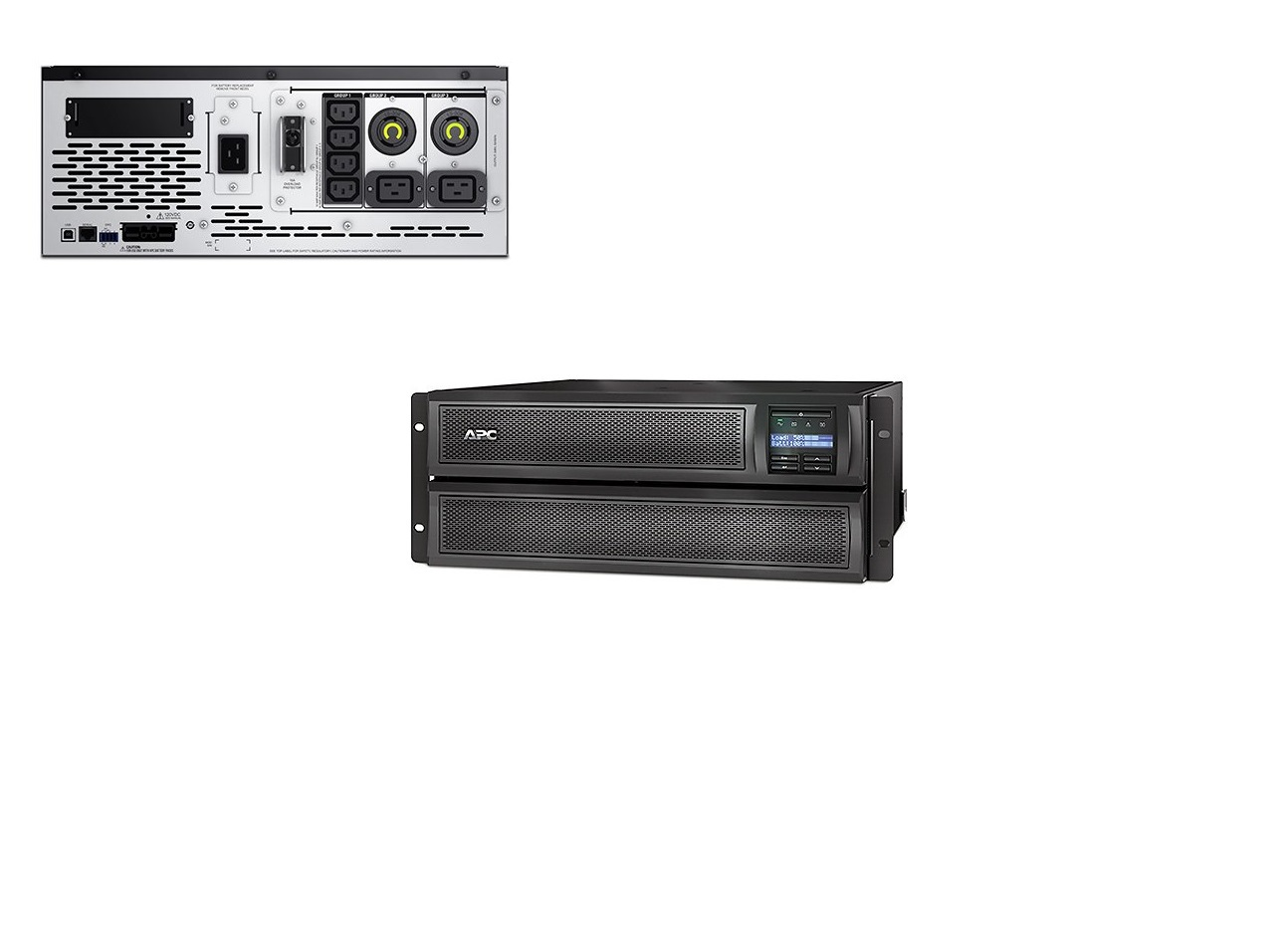 Schneider Electric Smart-UPS X 3000VA 2700Watts Short Depth 4U Tower Rack Convertible LCD 208V SMX3000HVT