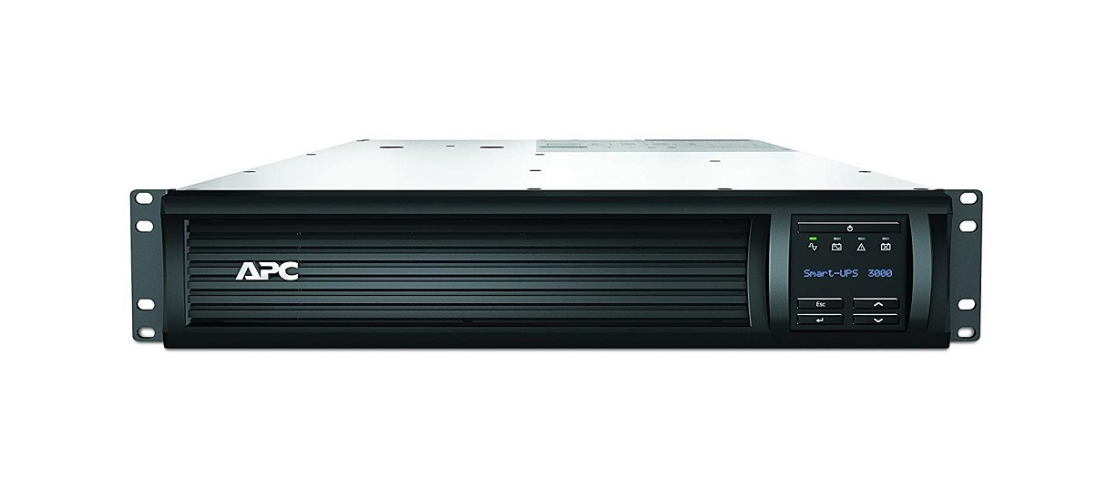 Schneider APC Smart-UPS 3000VA RM 2U LCD 230V 2700Watts SMT3000RMI2U UPS rack-mountable