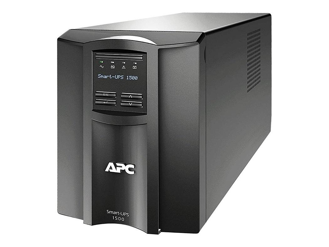 APC SMT1500NC Smart-UPS 1500VA LCD 120V With Network Card