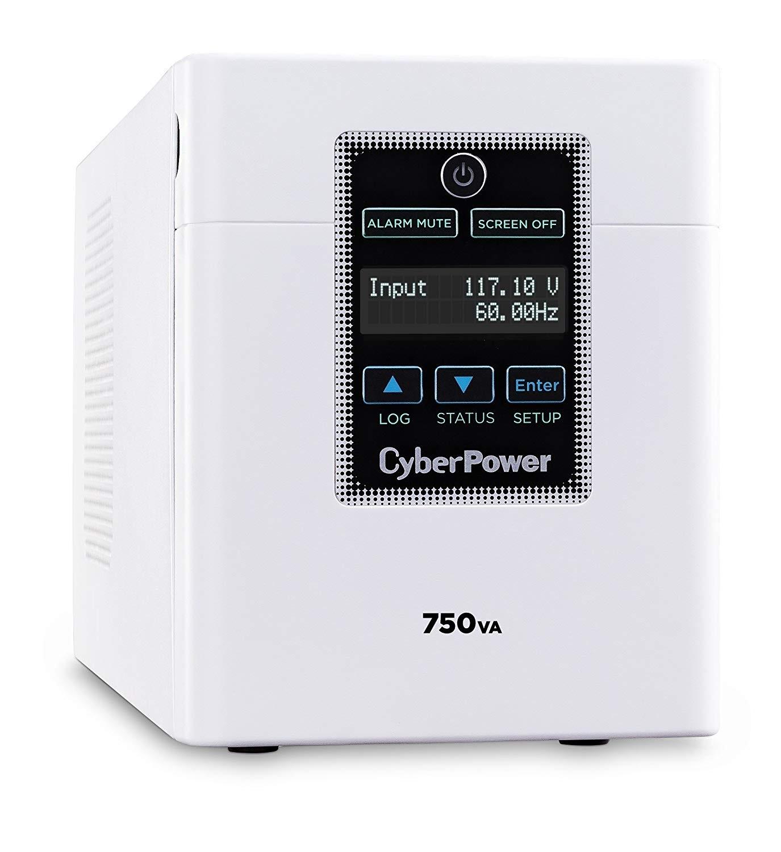 Cyberpower M750L 750VA 600W 6-out 120 VAC Line InterActive UPS (New Unused Open Box)