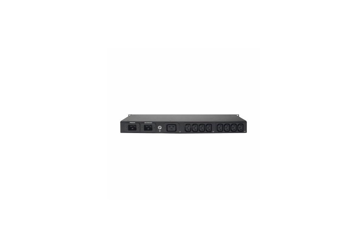 Eaton T2235-3370 ATS 2x L5-20P 1.92 KW 16A Single-phase 1U Rack PDU