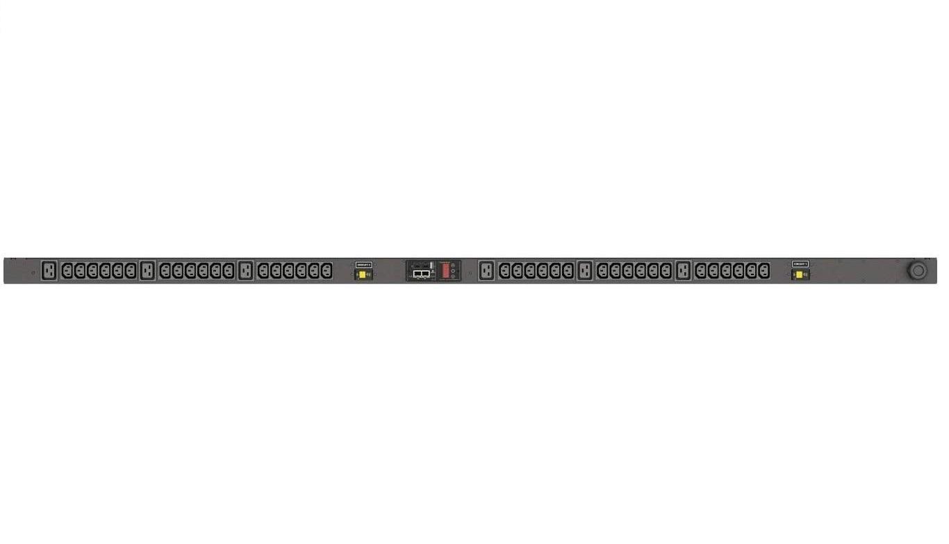 Vertiv Liebert Geist VP8841 30A 4.9KW 208V 36xC13 6xC19 L6-30P 10ft Rack PDU