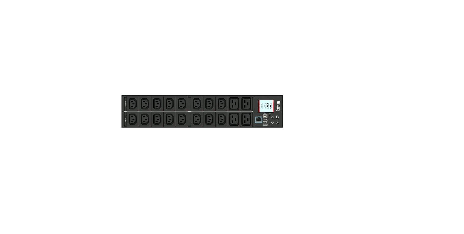 Raritan 16xIEC320 C13 24A 208V 5kVA Rack PDU PX3-4464R