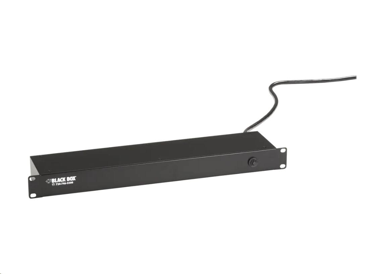 Black Box PS188A-R2 6xOut RackMount Power Strip 19 PS188A-R2