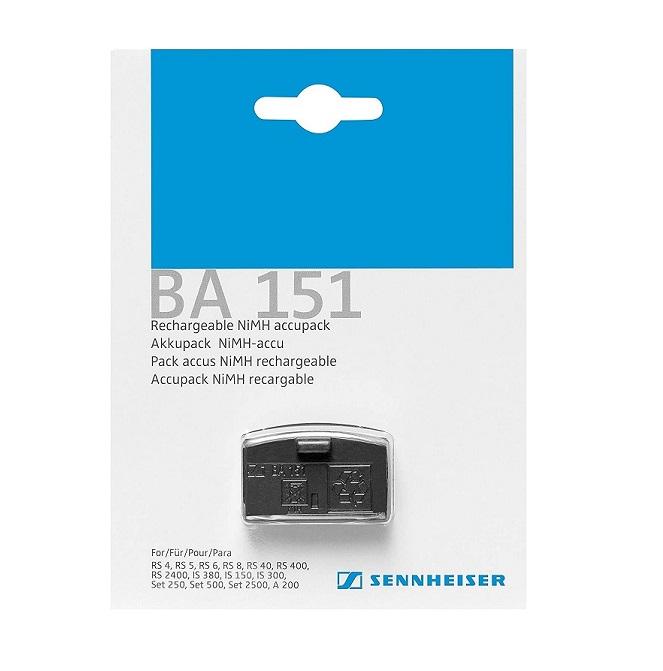 Sennheiser Electronic Ba 151 Nickel Metal Hydride Battery For Headsets BA151