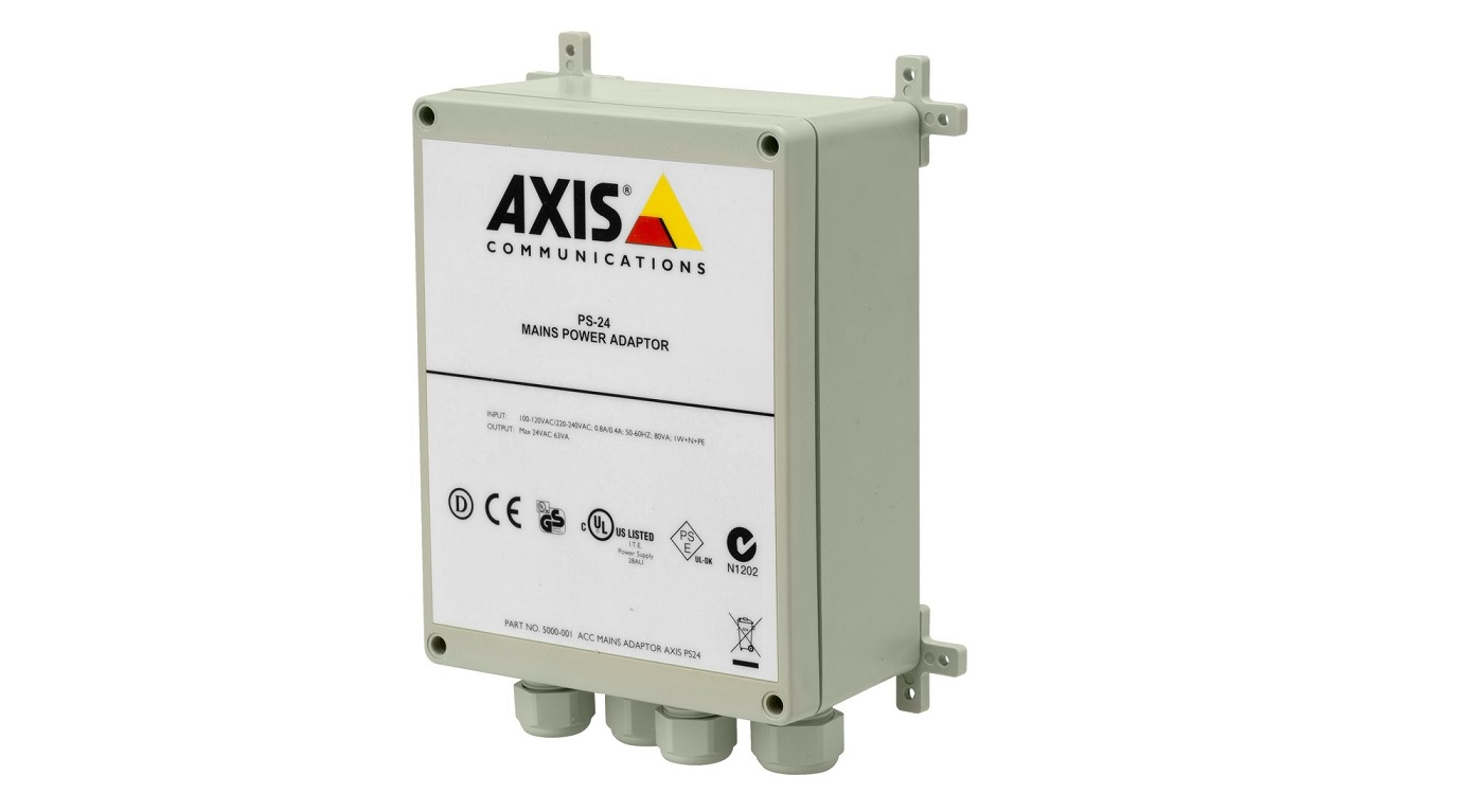 Axis PS-24 ACC Outdoor Mains Power Adapter 5000-001
