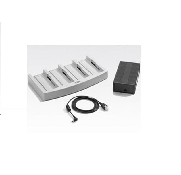 Motorola Symbol UBC2000 4-Solt Universal Battery Charger With AC Adapter UBC2000-I500DES