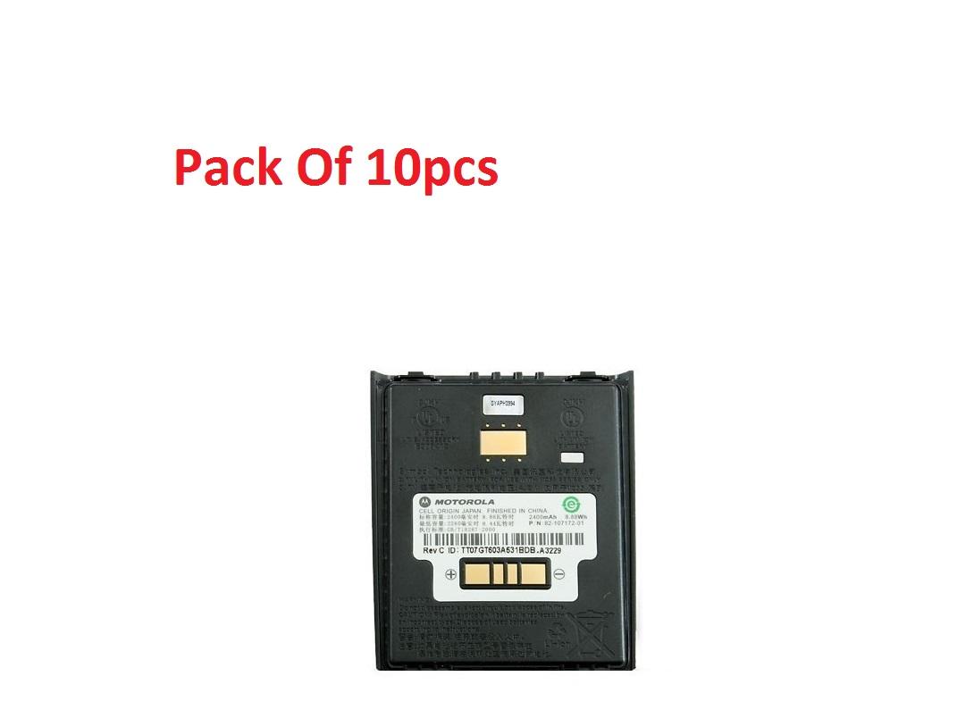 Motorola (10-Pack) Battery For MC55XX MC5590 MC55AO MC65 MC55 2400mAh BTRY-MC55EAB00-10