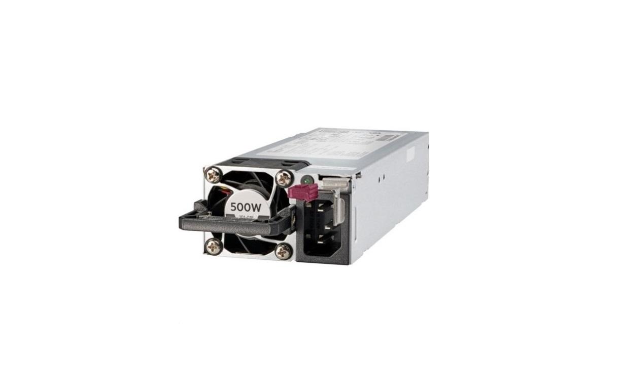 Hp 500W Flex Slot 80+ Platinum Hot Plug Low Halogen Power Supply Kit 865408-B21
