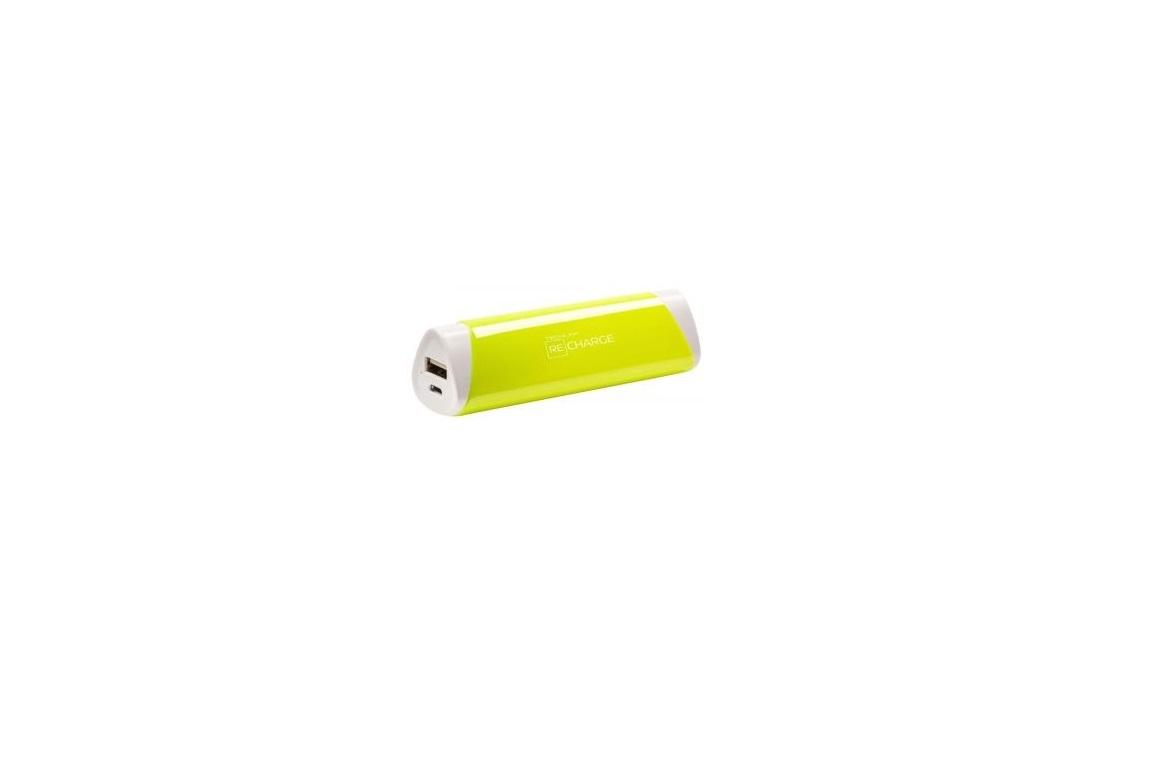 Techlink Recharge 2600mAh Power Bank Yellow 527014