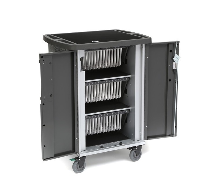 Bretford Ever Cart With Mix Module System For Up To 45 Devices T45C-P-AC-US