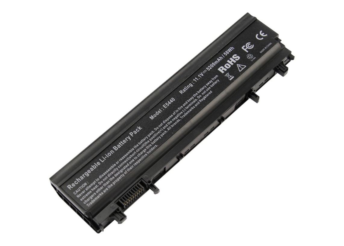 Ereplacements 65Wh 11.1V 5200mAh Li-Ion Notebook Battery For Latitude E5440 451-BBIE-ER