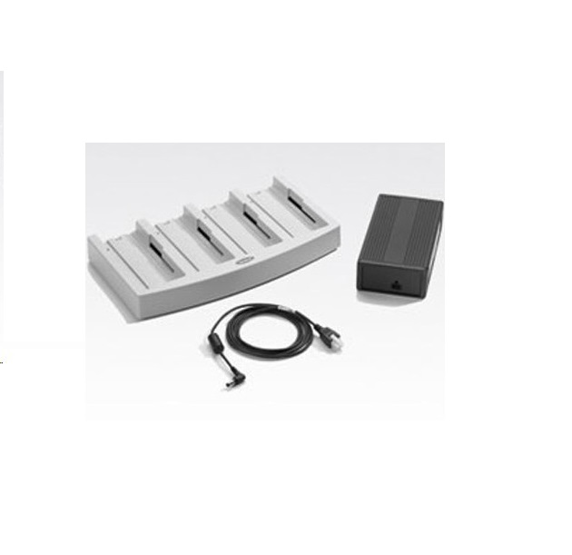 Zebra Technologiesl UBC2000 4-Solt Universal Battery Charger With AC Adapter UBC2000-I500DES