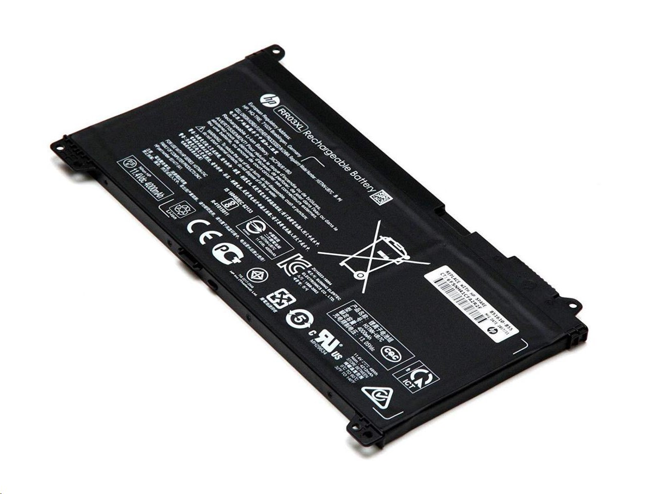 HP Genuine ProBook RR03XL 851610-855 Genuine 4-Cell Battery 11.4V 48Wh For ProBook 450 G5 851610-855