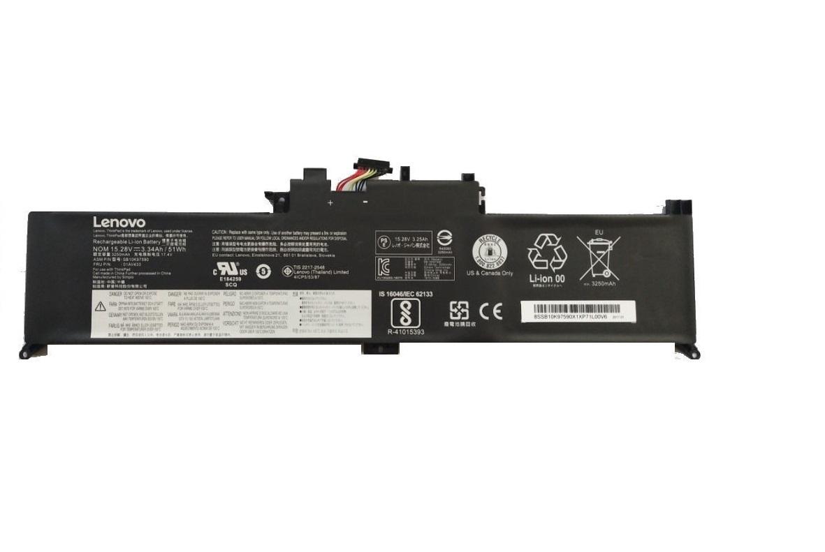 Lenovo Genuine Thinkpad Yoga 370 51WH 4-Cell Battery 01AV432