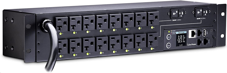 Cyberpower PDU81003 30A 120V 16xNEMA 5-20R 2U Single Phase PDU
