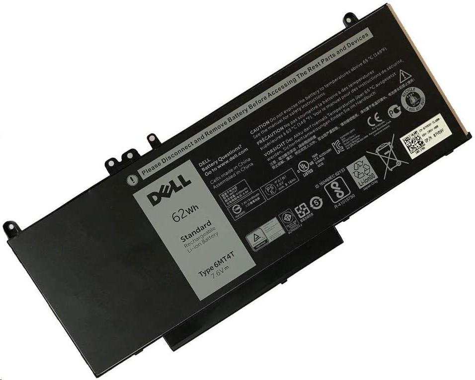 62WH Genuine Dell 6MT4T 7.6V 4-Cell Li-Ion Battery For Dell Latitude E5470 E5570 07V69Y