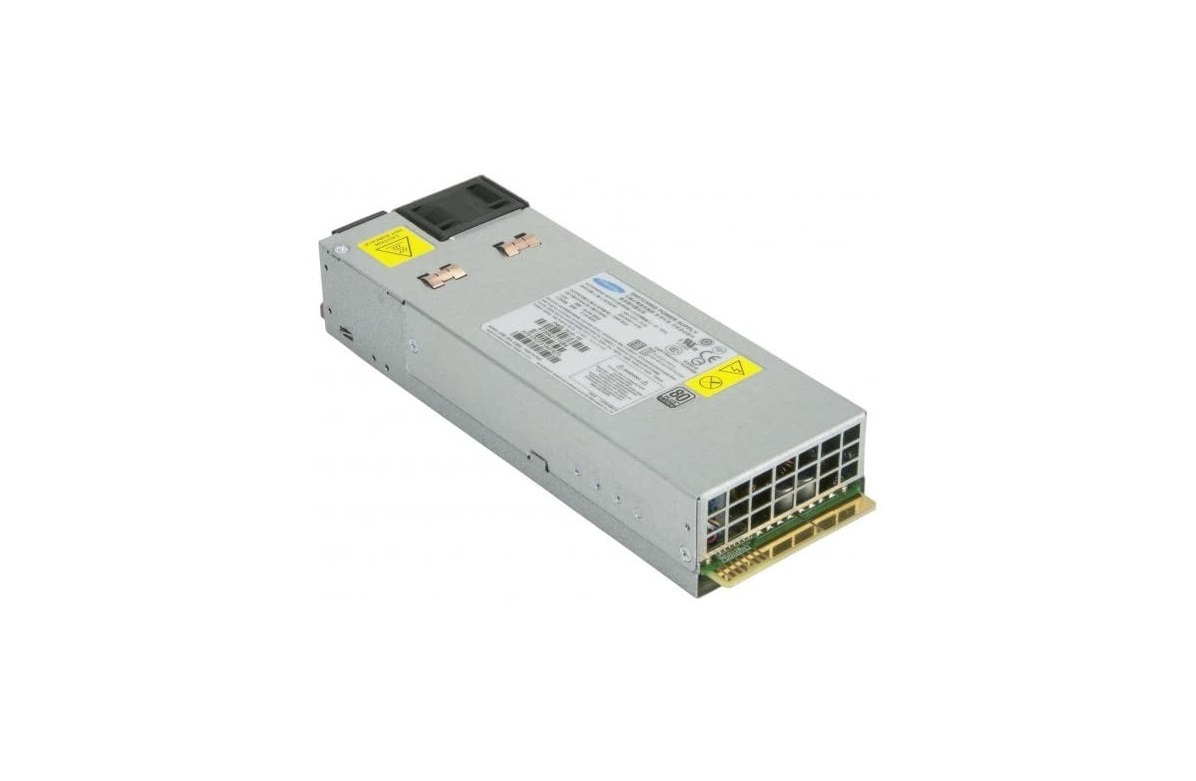 Supermicro 750W 80 Plus Platinum 1U Redundant Power Supply PWS-750P-1R