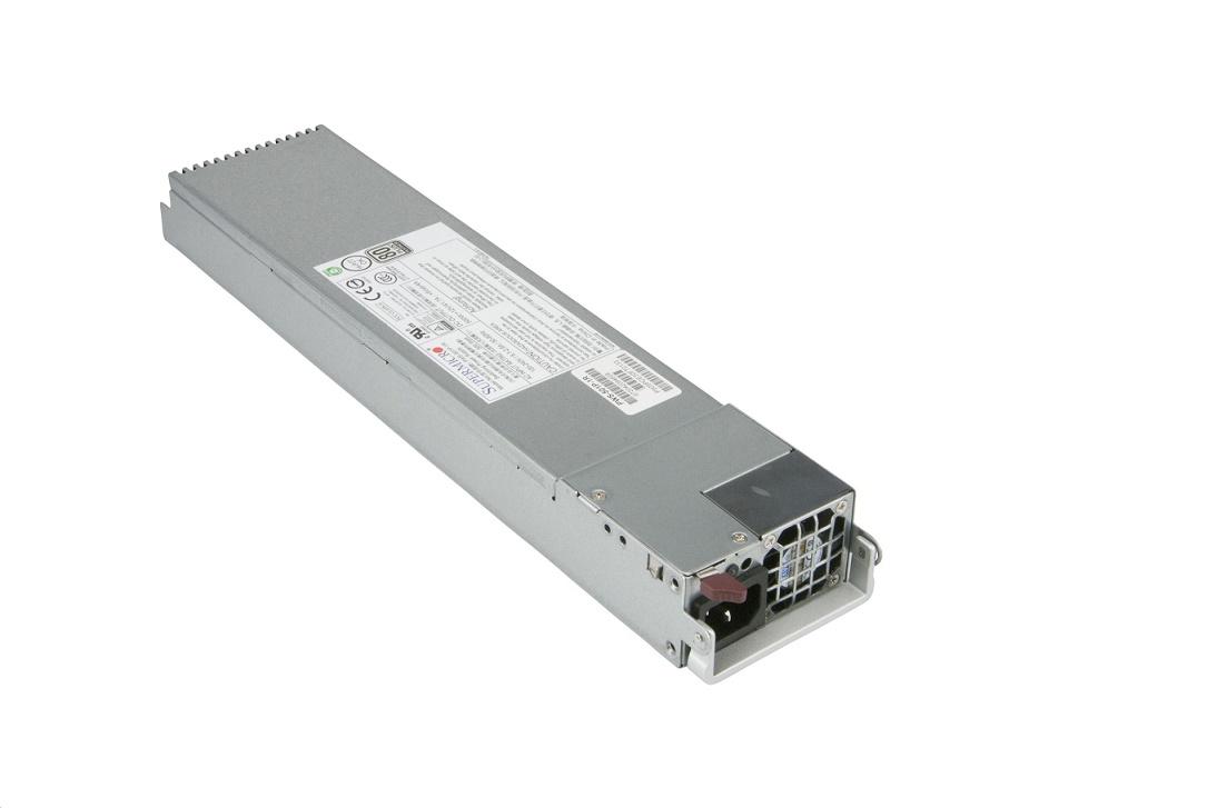 Supermicro 500W 80 Plus Platinum Redundant Internal 1U Server Power Supply PWS-501P-1R
