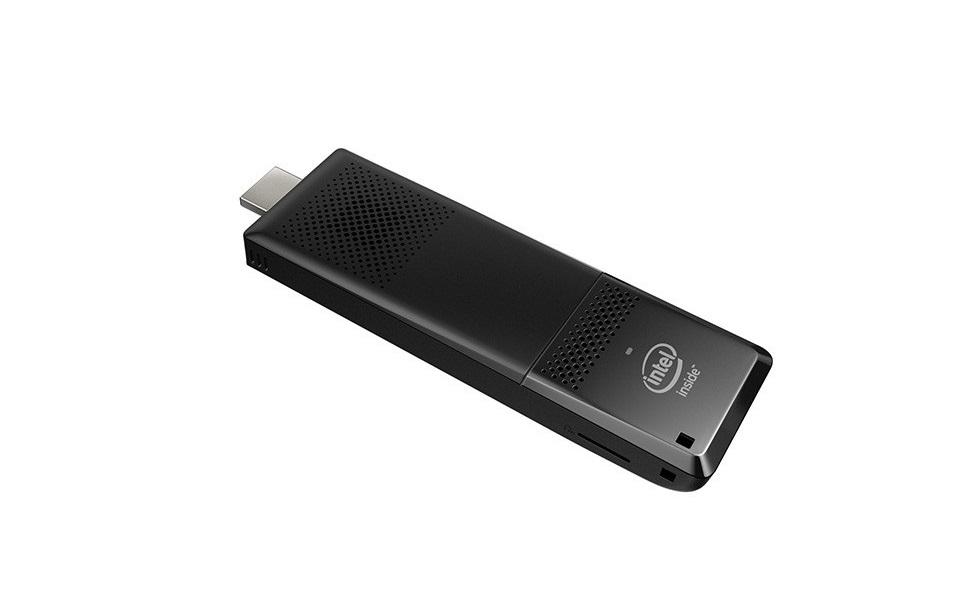 Intel Compute HDMI Stick Single Board Intel Atom x5-Z8300 1.44GHz 2GB 32GB eMMC No OS Black BLKSTK1A32SC