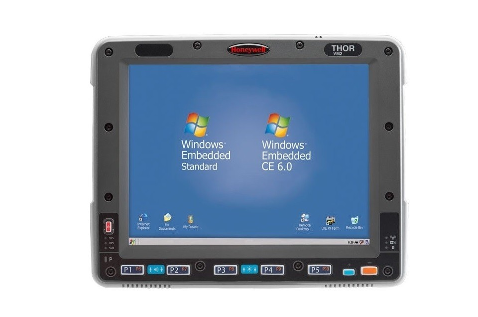 Honeywell Thor VM2 Intel Atom Z530 1.6GHz 9.7 Wireless 32GB Wind 7 Pro VM2W2D1A1AUS0UA Vehicle Computer Mount Data Terminal